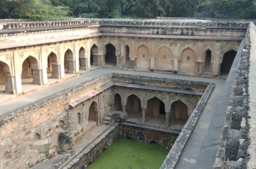 Rajon Ki Baoli Bird Eye View