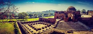 Firoz Shah Kotla Fort Full View