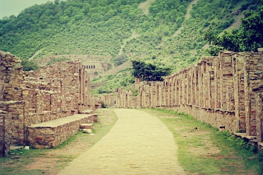 Bhangarh Fort Entry