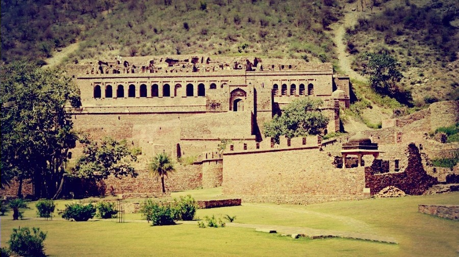 Bhangarh Fort Full View