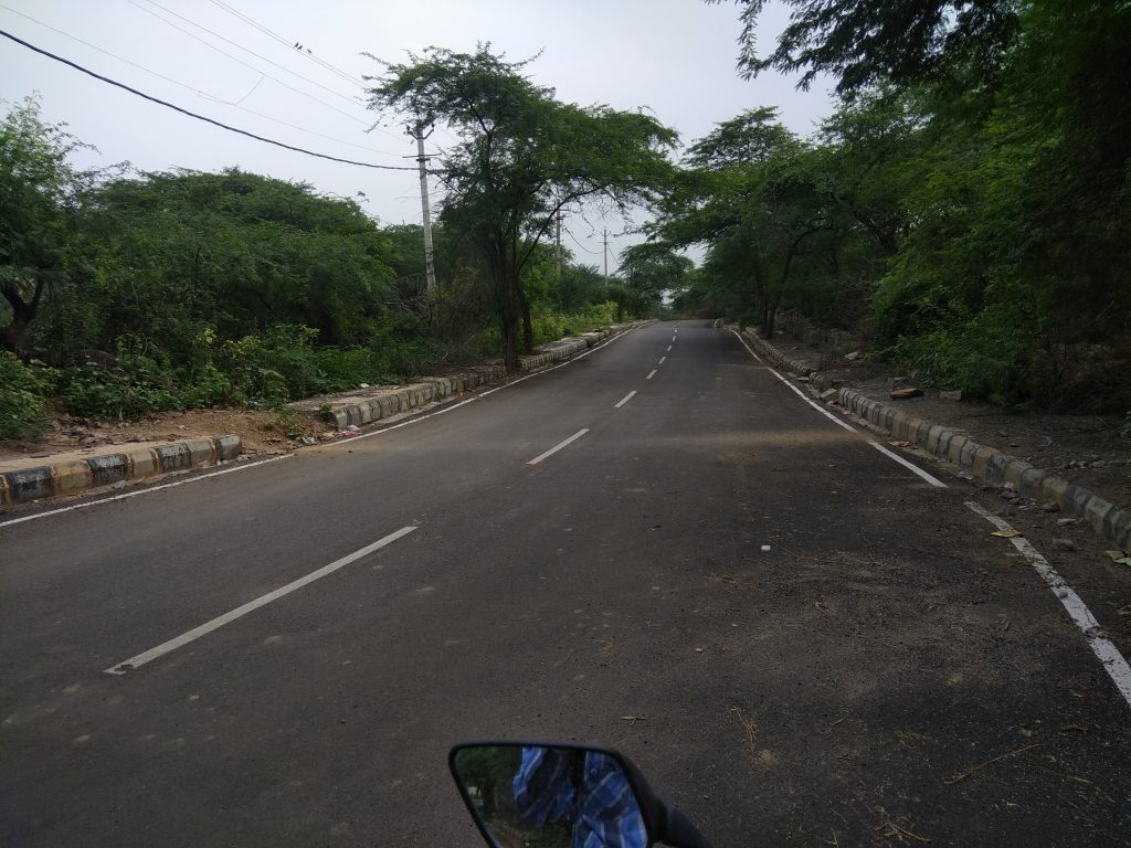 Delhi Cantt Haunted Road On My Motorcycle.