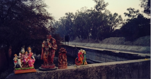 Idols of God At Khooni Nadi Rohini