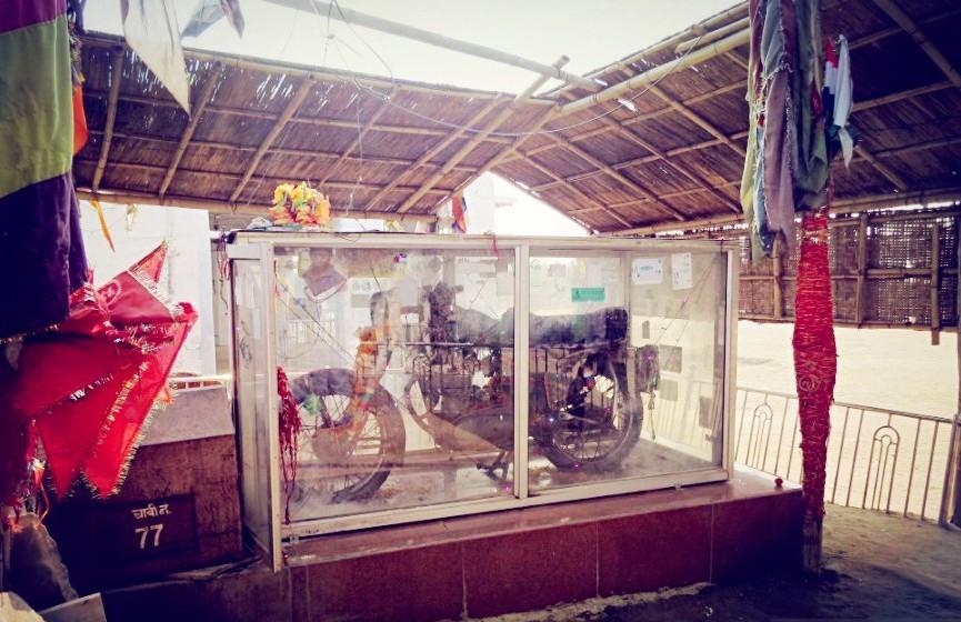 Om Singh Rathore's Motorcycle